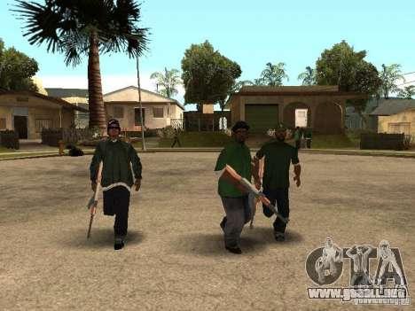 Grove Street Forever para GTA San Andreas