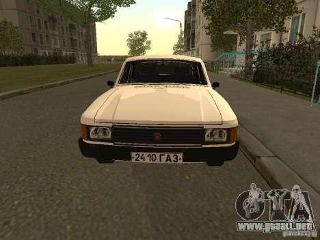 Volga GAZ 31013 para GTA San Andreas left