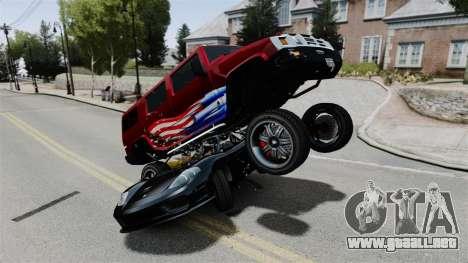 Monster Patriot para GTA 4 adelante de pantalla