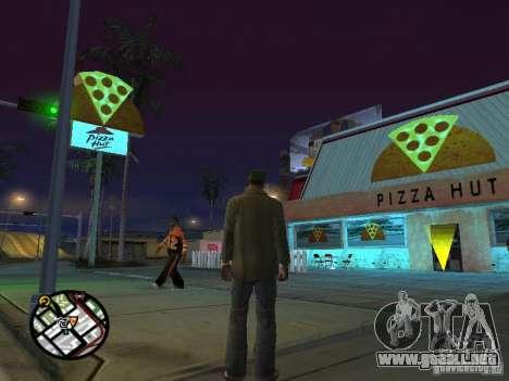 Nuevos restaurantes de texturas para GTA San Andreas séptima pantalla