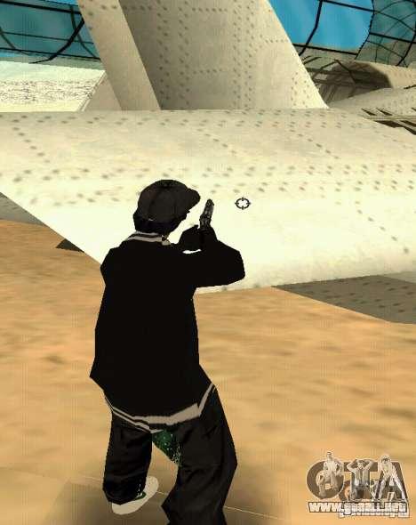 P-HUD para GTA San Andreas sucesivamente de pantalla