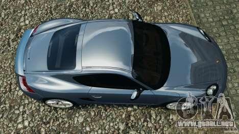 Porsche Cayman R 2012 para GTA 4 visión correcta