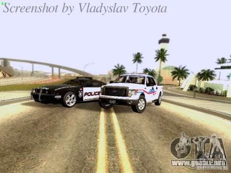 Ford F-150 Road Sheriff para visión interna GTA San Andreas