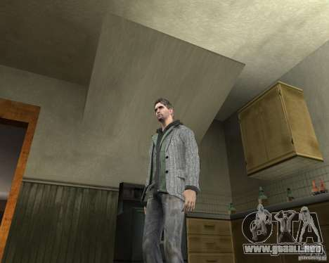 Alan Wake para GTA San Andreas segunda pantalla