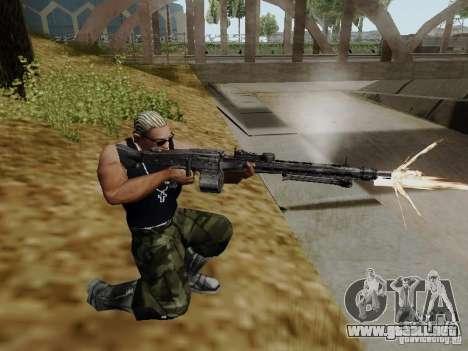 La ametralladora MG-42 para GTA San Andreas segunda pantalla