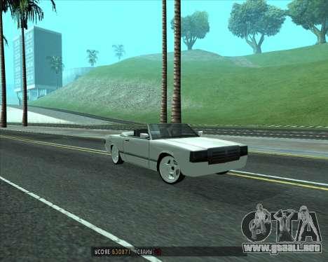 Feltzer v1.0 para GTA San Andreas left
