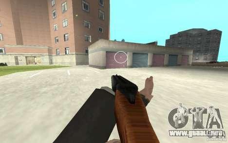 Nueva animación de GTA IV para GTA San Andreas octavo de pantalla