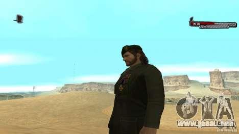 General para GTA San Andreas segunda pantalla