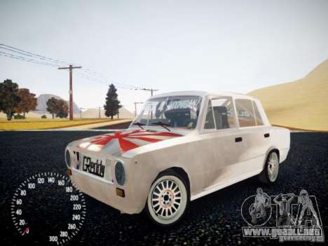 Edición de VAZ-2101 Drift para GTA 4 vista hacia atrás