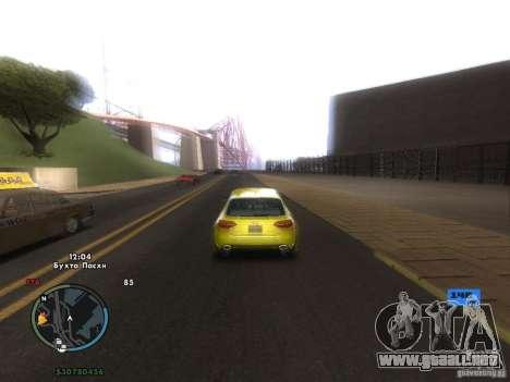 Tacómetro electrónico para GTA San Andreas séptima pantalla