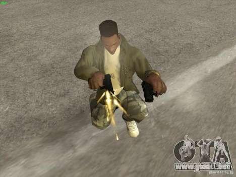 Pistola G18 para GTA San Andreas segunda pantalla