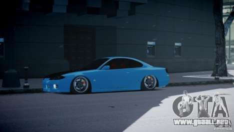 Nissan Silvia S15 JDM para GTA 4 left