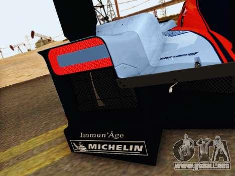 Aston Martin DBR1 Lola 007 para la vista superior GTA San Andreas