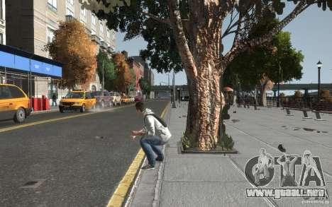 Desmond Miles de AC3 para GTA 4 quinta pantalla