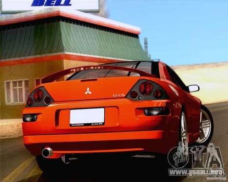 Mitsubishi Eclipse GTS 2003 para GTA San Andreas vista posterior izquierda