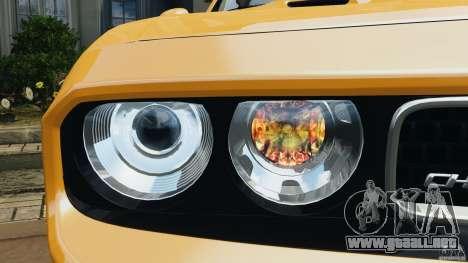 Dodge Challenger SRT8 392 2012 [EPM] para GTA 4 ruedas