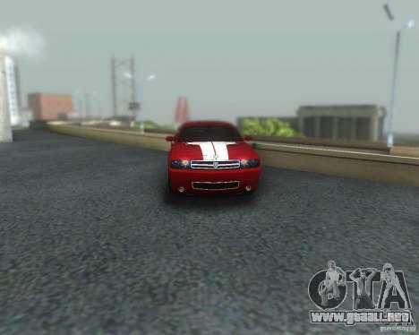 ENBSeries for medium PC para GTA San Andreas octavo de pantalla