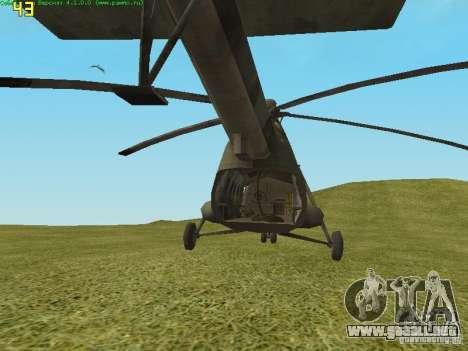 MTV MI-8 para la visión correcta GTA San Andreas
