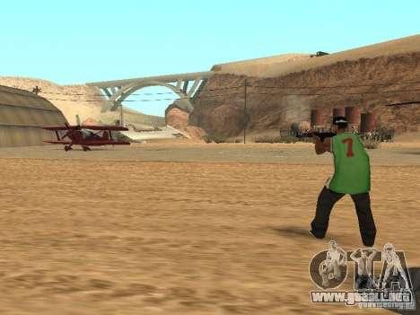 Aliados intelectuales para GTA San Andreas tercera pantalla