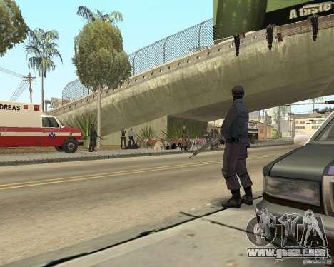 Escena del crimen (escena del crimen) para GTA San Andreas tercera pantalla