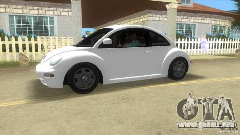 VW New Beetle para GTA Vice City left