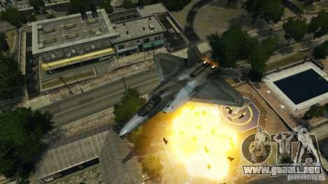 Air Combat IV para GTA 4 sexto de pantalla