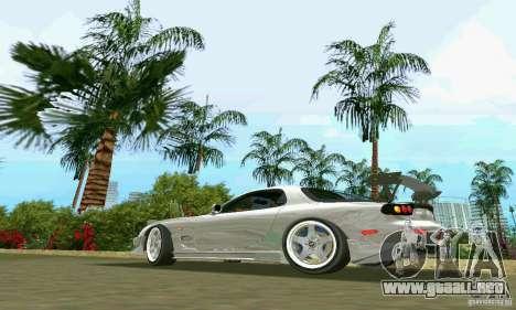 Mazda RX7 tuning para GTA Vice City left