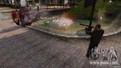 El daño real de armas para GTA 4