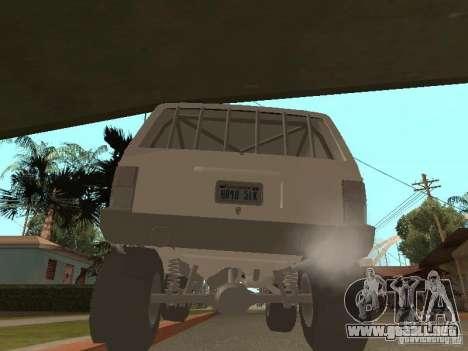 Jeep Cherokee 1984 v.2 para la visión correcta GTA San Andreas
