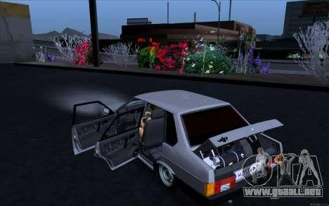 VAZ 21099 estilo Vip para GTA San Andreas left