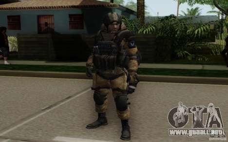El médico de Warface para GTA San Andreas