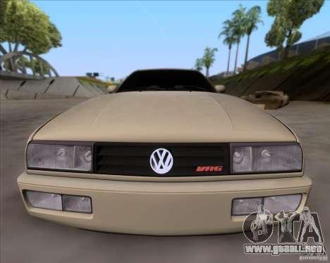 Volkswagen Corrado VR6 1995 para visión interna GTA San Andreas