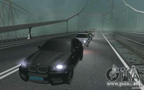 La caravana presidencial v. 1.2 para GTA San Andreas segunda pantalla