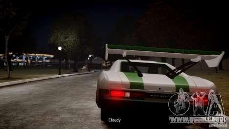 Dukes City-Drag para GTA 4 Vista posterior izquierda