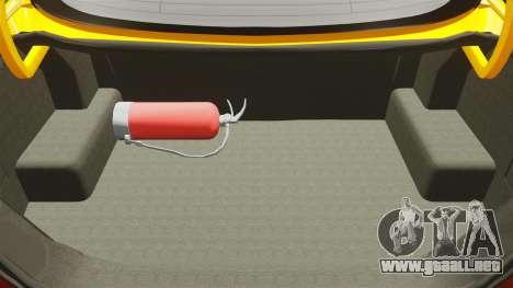 Mercedes-Benz CLK 55 AMG para GTA 4 vista superior