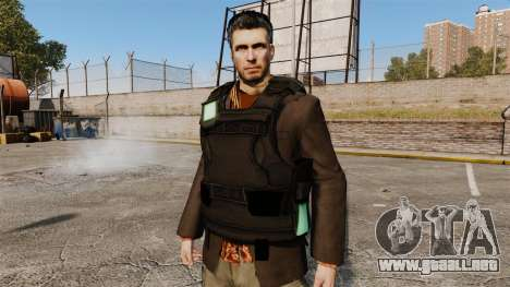 V6 Sam Fisher para GTA 4 quinta pantalla