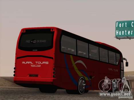 Neoplan Tourliner. Rural Tours 1502 para las ruedas de GTA San Andreas
