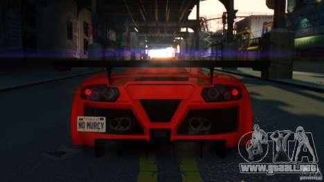 Gumpert Apollo Sport 2011 v2.0 para GTA 4 Vista posterior izquierda