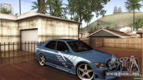 Lexus IS 300 Veilside para GTA San Andreas