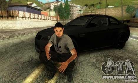 Jack Rourke para GTA San Andreas segunda pantalla