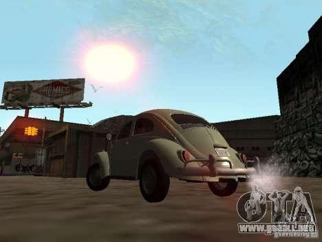 Volkswagen Beetle para visión interna GTA San Andreas