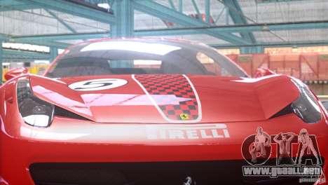 Ferrari 458 Italia 2010 Autovista para GTA 4 visión correcta