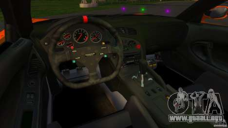 Mazda RX-7 Veilside Tokyo Drift para GTA 4 vista hacia atrás