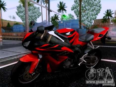 Honda CBR 600 RR para GTA San Andreas