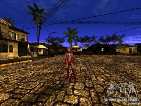 Iron Man 3 Mark V para GTA San Andreas tercera pantalla