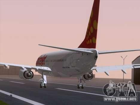 Boeing 737-8F2 Spicejet para GTA San Andreas left