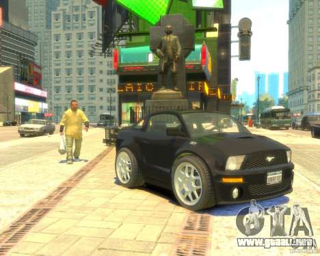 Ford Mustang Mini GT Beta para GTA 4