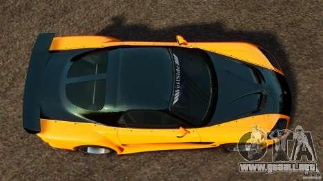 Mazda RX-7 Veilside Tokyo Drift para GTA 4 visión correcta
