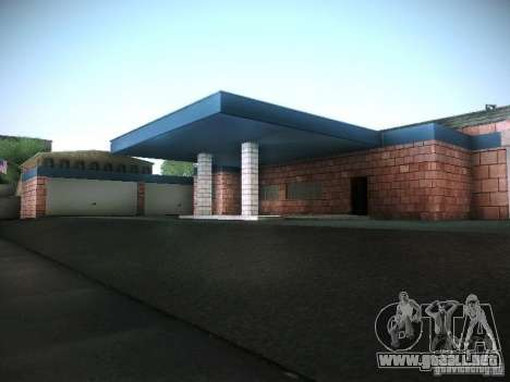Nuevo garaje en San Fierro para GTA San Andreas novena de pantalla