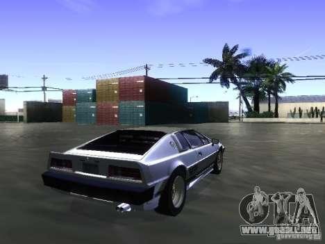 Lotus Esprit Turbo para GTA San Andreas left